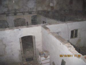Blick in den Keller