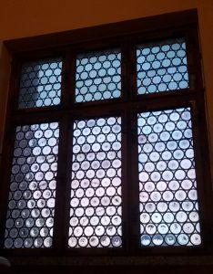 Das Schmuckfenster von Innen