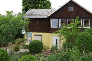 Ulmenhaus - Ansicht von der Auffahrt