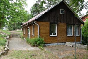 Birkenhaus - Blick Richtung Weinberg