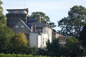 Die Wachtelburg aus Westlicher Richtung nach der Sanierung
