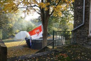 "Zeltlager der Potsdamer Pfadfinder ""Potsdamer Wölfe"""